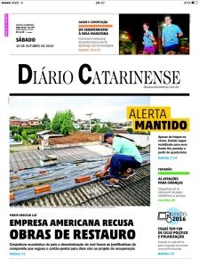 Diário Catarinense - 10/10/2015