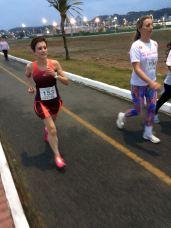 Franciela correndo